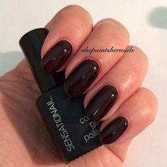 Wow! Via: She Paints Her Nails!  #DuskTillDawn #SensatioNail #GelPolish
