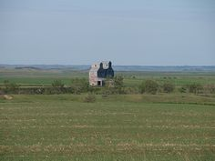 An old grain elevator in what used to be North Almont, ND