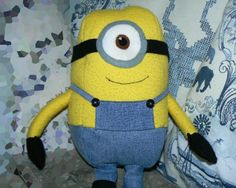 Minion Plush softie stuffie sewing pattern diy despicable me