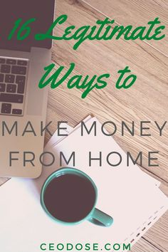 16 Real Ways to Make Money at Home, According to Experts. These short-term gigs let you turn downtime into dollars. Make Money Fast, Make Money Blogging, Make Money From Home, Money Tips, Money Saving Tips, Make Money Online, Online Work From Home, Work From Home Tips, Online Marketing