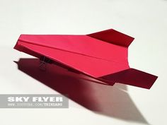 Best Paper Planes: How to make a paper airplane that Flies Far | Sky Flyer - YouTube