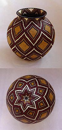 Hosig di - fine baskets of the Wounaan Indians of the Darien Peninsula, Panama.