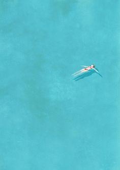 Estamos todos sozinhos. Esse é o ponto de partida que o ilustrador Belhoula Amir escolheu para uma série de ilustrações delicadas e significativas chamada