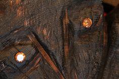 resin, wood, rustic, ethno, russian, Siberian, futurism, artifact