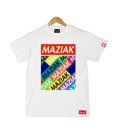 MAZIAK CLOTHING — TAGGED TEE IN WHITE