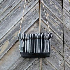 AILI-laukku, mustavalkoraita | Weecos