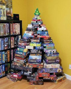 ONE OF THE BEST TREES I HAVE EVER SEEN! With a Dargon on top!! Merry Christmas everyone! Have a wonderful day! Photo from @lowryagency_clubfantasci -  The Club Fantasci Christmas Tree with a Dargon tree topper!  #boardgames #games #gaming #tabletopgaming