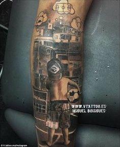 Imagini pentru soccer ball tattoo