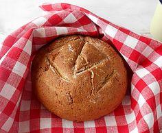 Coisas simples são a receita ...: Pão caseiro de centeio integral, amêndoa e nozes