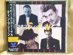 CD/Japan- TIN MACHINE Baby Universal 4trx EP w/OBI RARE OOP 1991 David Bowie #PopRock