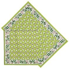 Green Placemats and Napkins Set of 6, Summer Decorations Indian Cotton ShalinIndia http://www.amazon.com/dp/B00J8H6HK8/ref=cm_sw_r_pi_dp_X3WVvb0J4GXF2