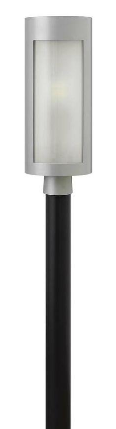 Solara Outdoor Post Light shown in Titanium by Hinkley Lighting - 2021TT