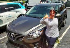 Congratulations to Sally Johnson on the purchase of her new Mazda CX-5! 🤘🏼#youmatter #mazdafwb