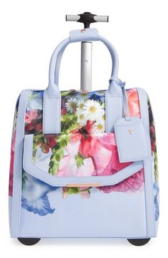 e25964a4791 Ted Baker London 'Vickey Floral Focus' Travel Bag available at #Nordstrom Ted  Baker