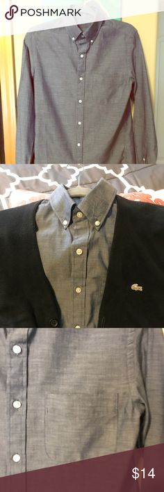 J.CREW CHAMBRAY SHIRT NWT! (Unattached) J Crew chambray dress shirt. It's brand new I do have the tag it's unattached. Online purchase consignment it's a dress shirt very lightweight but I don't wear dress shirts. My loss your gain. Make me an offer!!! J. Crew Shirts Dress Shirts