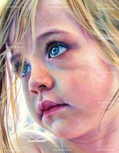 Christina Papagianni -One life to live by XRlS - colored pencil