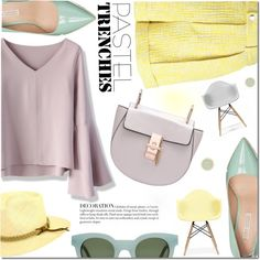 How To Wear Pastel Summer Hat Outfit Idea 2017 - Fashion Trends Ready To Wear For Plus Size, Curvy Women Over 20, 30, 40, 50