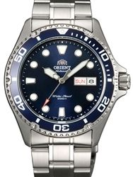 Orient Ray II Blue Dial Automatic Dive Watch with Stainless Steel Bracelet #AA02005D