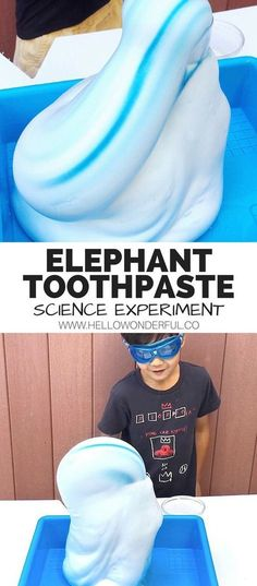 Elephant Toothpaste Science Experiment Fun for kids Watch the stepbystep process video Summer Science, Science Party, Science Activities For Kids, Cool Science Experiments, Stem Science, Science Fair, Science For Kids, Science For Preschoolers, Chemistry For Kids