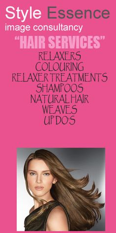 RELAXERS,COLOURING,RELAXER TREATMENTS,SHAMPOOS,NATURAL HAIR,WEAVES,UP DO'S in any occassion please Visit http://styleessence.com/ #uk #Beauty #Pretty #Girls