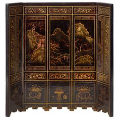 19th Century Small Chinese  Screen 1