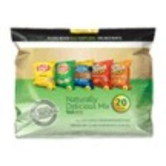 I'm learning all about Frito-Lay Variety Pack Naturally Delicious Mix at @Influenster!
