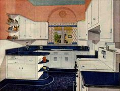 More design ideas for my imaginary kitchen remodel.