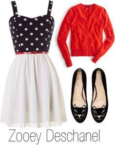 How to Dress Like Zooey Deschanel