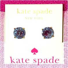 Take 35% Off 🍁Kate Spade ♠️ Blue Gumdrop Earrings ✨ NWTs Kate Spade ♠️ Blue Gumdrop Earrings • Posts are made of Rhodium & are Nickel Free for sensitive ears • Includes dust bag • smoke/pet free home • 20% donated to the American Cancer Society • Thanks & Happy Poshing! ✨ kate spade Jewelry Earrings
