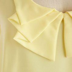 Cuellos originales para dar un toque diferente a tus camisas.Telas Divinas
