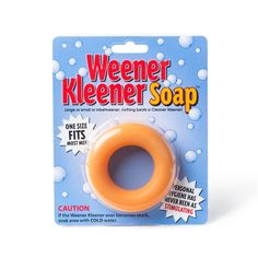 Weener Kleener Soap - Gift idea for a bachelor party - If you are looking for a fun gift idea for a bachelor party, this fun soap comes in a very special shape that will make all grooms and groomsmen laugh. Treat yourself in the shower in a very clean way!  - $8.99