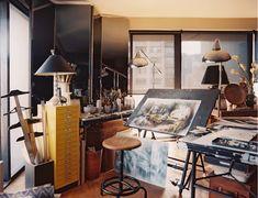 Jeremiah Goodman's studio