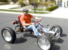 Z-Kart – Homemade Electric Buggy from California Electric Go Kart, Electric Cars, Electric Trike, Electric Vehicle, Buggy, Karts, Tesla Roadster, Drift Trike, Engin