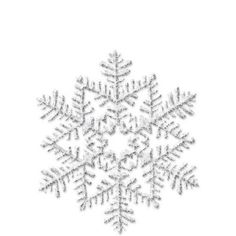 Silver Glitter Snowflake Decoration - Party City