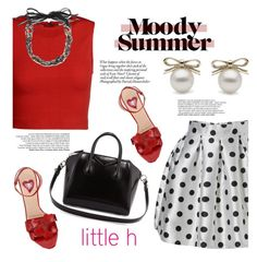 Summer Mood with Littleh Jewelry by littlehjewelry on Polyvore featuring Alice + Olivia, Valentino and Givenchy