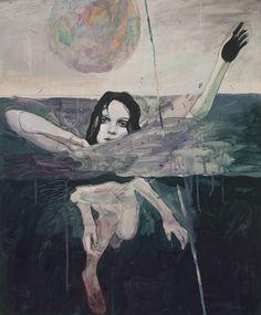 More paintings by Montreal-based artist Alexandra Levasseur. Alexandra Levasseur's Website ~ETS Art Inspo, Kunst Inspo, Painting Inspiration, Art And Illustration, Surreal Art, Oeuvre D'art, Dark Art, Zine, Art Reference