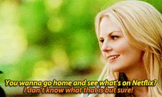 Emma and Hook - 4 * 1 #CaptainSwan Not even going to lie favourite line of that episode :p