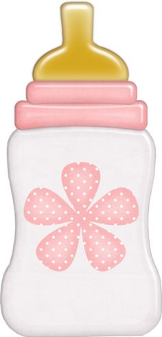 Cute Cliparts Baby Girl Pink Bottle   Cute Clipart ...
