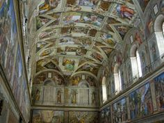 The Sistine Chapel - The Vatican
