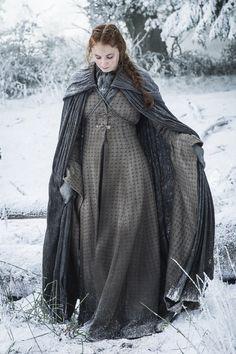 Sophie Turner as Sansa Stark. Photo by Helen Sloan/HBO