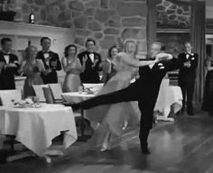 Discover & Share this Dance GIF with everyone you know. GIPHY is how you search, share, discover, and create GIFs. Golden Age Of Hollywood, Vintage Hollywood, Classic Hollywood, Old Movies, Vintage Movies, Great Movies, Shall We Dance, Lets Dance, Save The Last Dance
