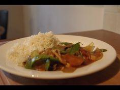 Recette chinoise idéale pour finir vos restes de poulet rôti - YouTube