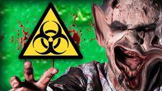 NASTIEST ZOMBIE EVER | Zombie Party w/Danothemano Zombie Party, Big Guns, Youtube, Canon, Youtubers, Youtube Movies