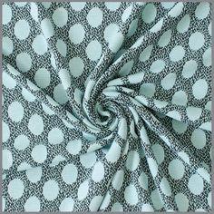 Tricot Oval Dots light mint