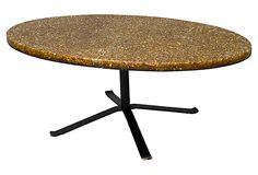 THIS IS VERY MUCH LIKE OURS ONLY OURS IS GREEN.  Coffee Table by Pierre Giraudon on ,OneKingsLane.com