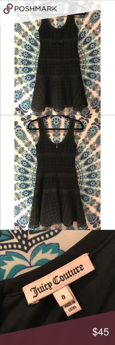 Juicy Couture crochet dress Like new. Worn twice Juicy Couture Dresses Mini