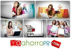 Yoahorropr.com Tu Shopping Mall Online de Puerto Rico. ¡Donde encontrarás de todo para TODOS!!! #yoahorro #tiendas #puertorico
