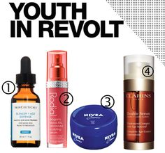 Youth in Revolt - Anti-aging products you can use today I am a true believer in the saying 'You are never to old to get rid of wrinkles' It has been something that my nan taught me at a very young age. In fact my mum brought my first ant-aging product at the age of 16. I think the earlier you start the better. 1.SkinCeuticals Blemish Age Defense This serum has been a staple in my skincare routine since I was 16 years old. The main reason I love it is that it targets two huge problems and I…