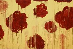 Cy Twombly, Untitled, 2007, from Blooming, A Scattering of Blossoms & Other Things. Acrylic on panel, The Broad Art Foundation, Santa Monica. ©Cy Twombly. Courtesy: Gagosian Gallery.