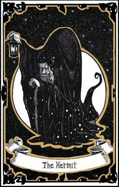 Tarot | IX - The Hermit by CatInBread on DeviantArt